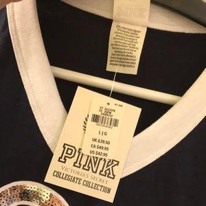 PINK Victoria's Secret Tops - L 💖 VS PINK University of Toronto Tee Shirt Top